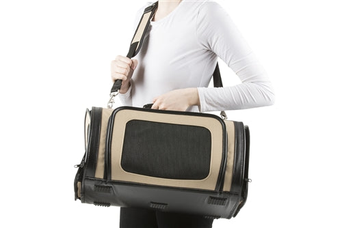 Petote Kelle Bag - Khaki and Black