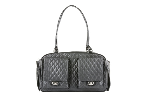 Petote Marlee Bag - Black Quilted