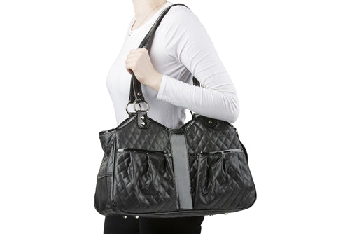 Petote Metro Bag - Black Quilted