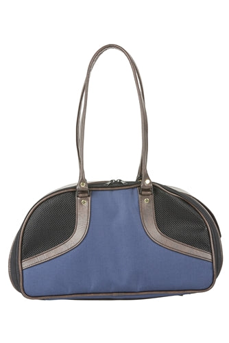 Petote Roxy Bag - Navy and Brown