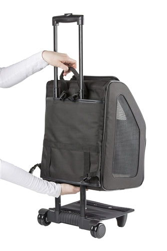 Petote Traveler Bag: Rio - Black Quilted