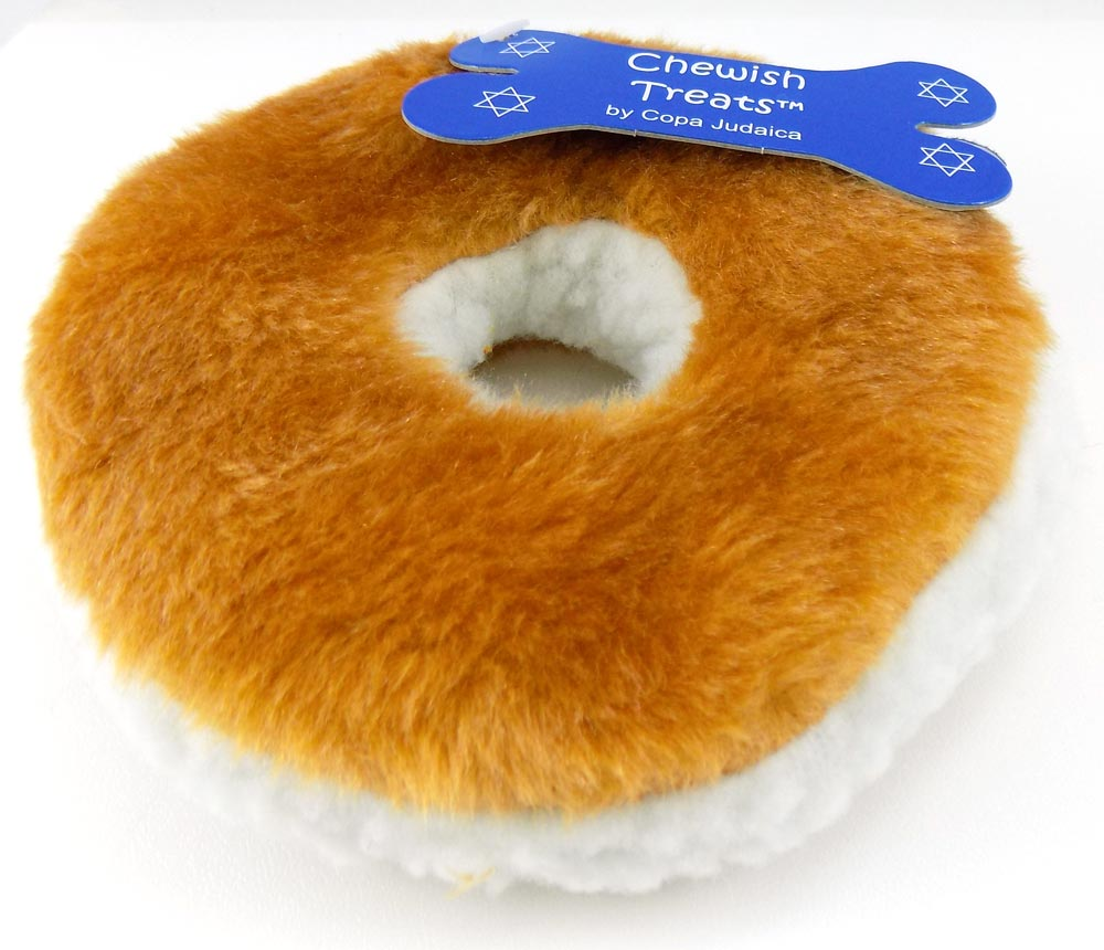 Plush Bagel Toy