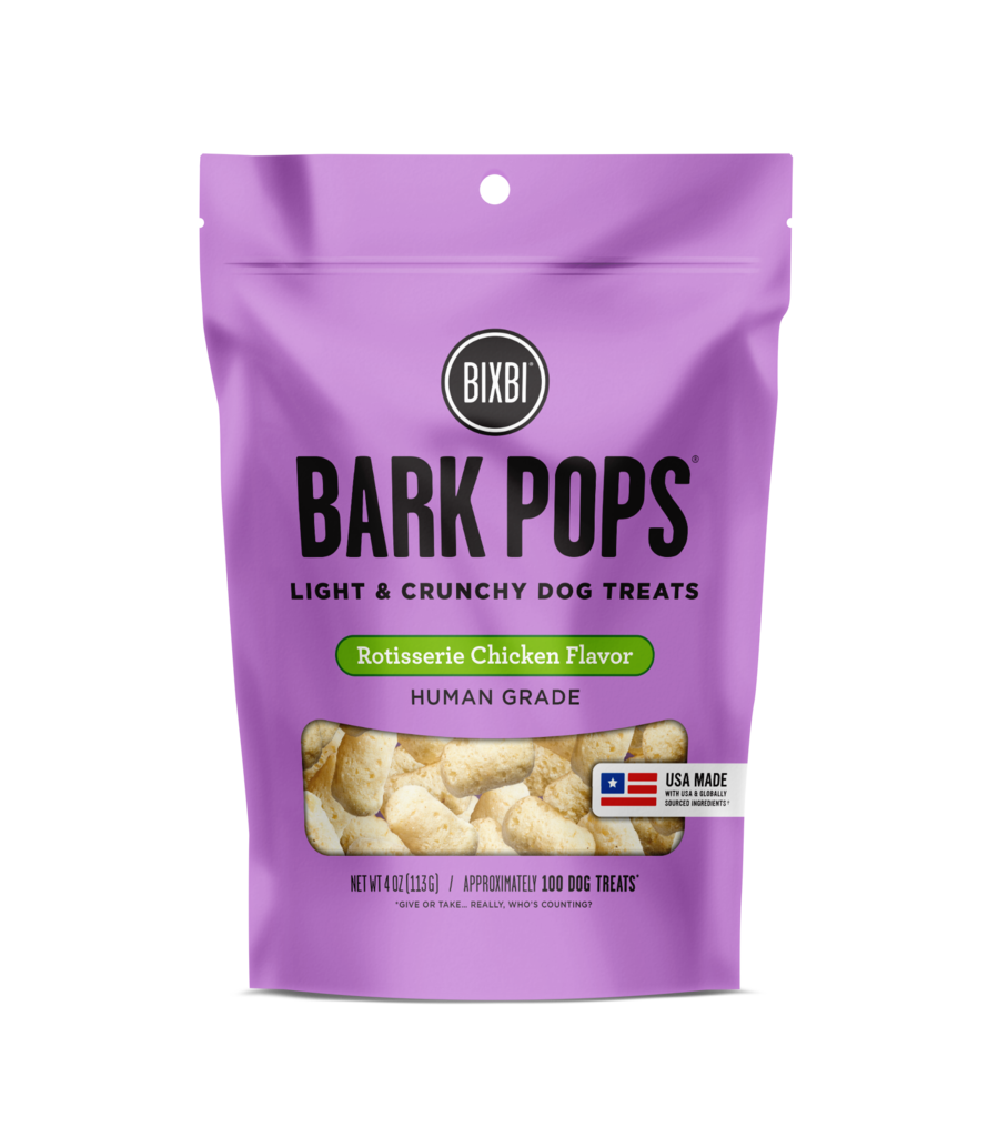 Bixbi Bark Pops - Rotisserie Chicken