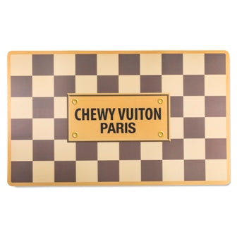 Chewy Vution Checkered Placemat