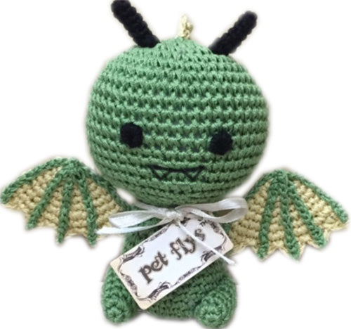 Drogo the Dragon Knit Toy
