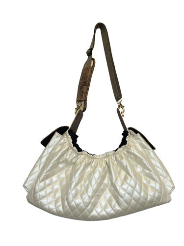 Petote Gigi Sling - Ivory Quilted