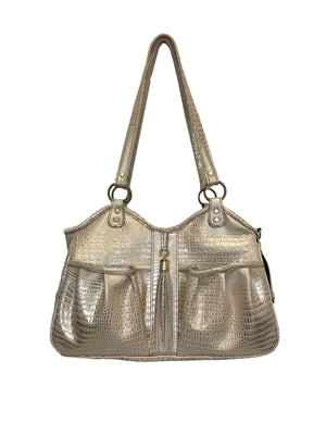 Petote Metro Bag Couture Collection - Gold Croco