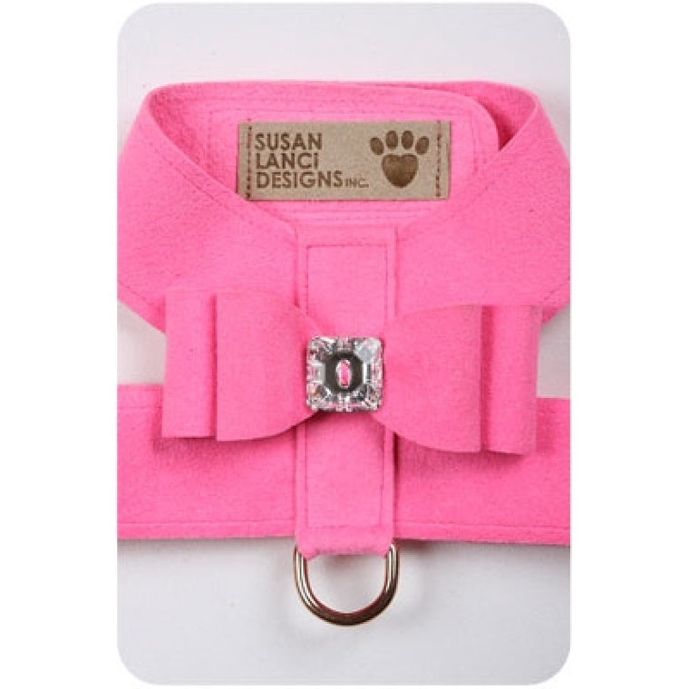 Big Bow Tinkie Harness - Perfect Pink