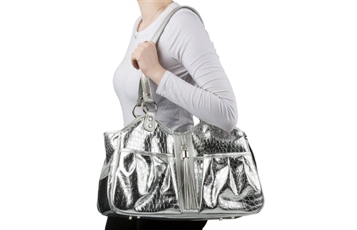 Petote Metro Bag Couture Collection - Ice Croco
