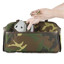 Petote Marlee Bag - Camo with Stripe