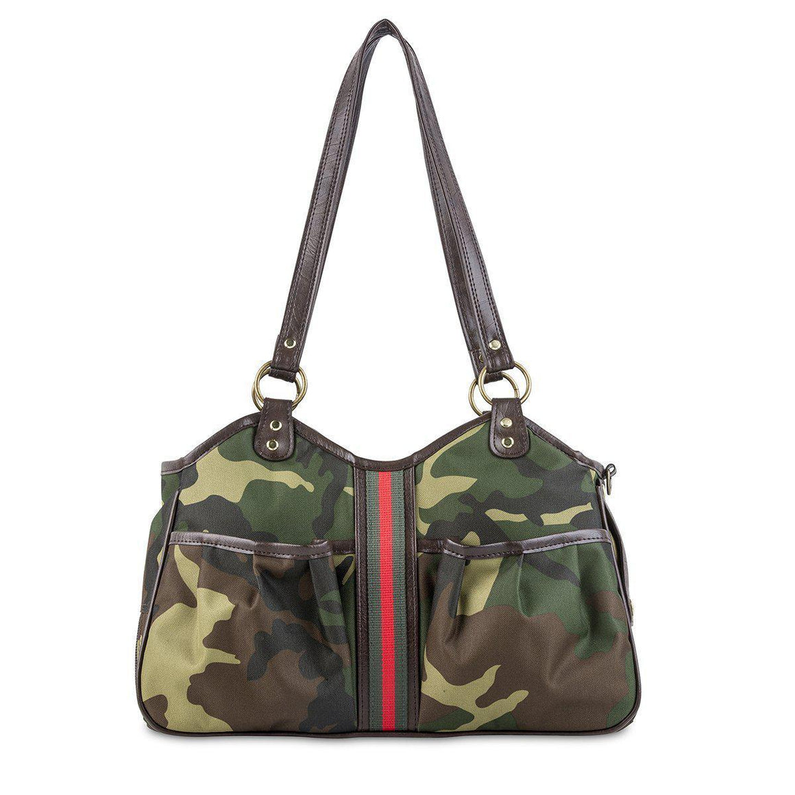 Petote Metro Bag Couture Collection - Camo with Stripe