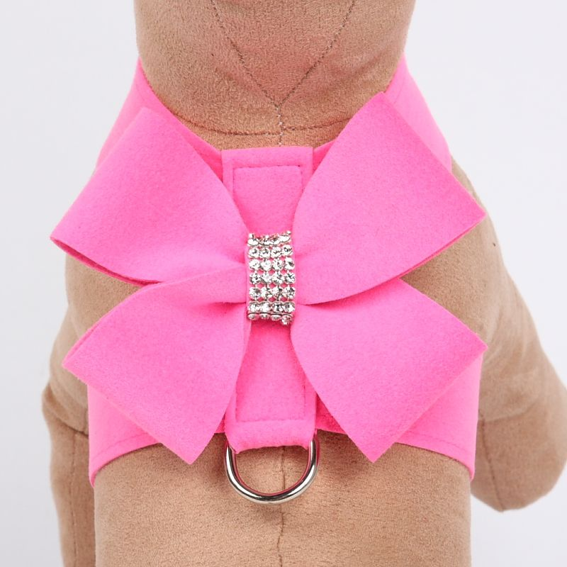 Nouveau Bow Tinkie Harness - Perfect Pink