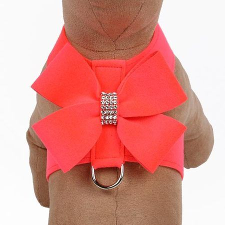 Nouveau Bow Tinkie Harness - Red