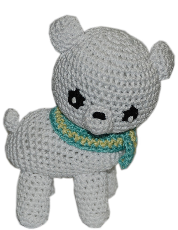 Polar Bear Knit Toy