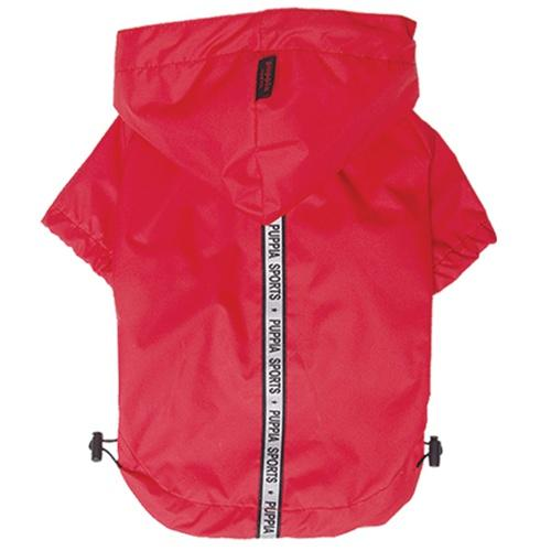 Red Base Jumper Raincoat Puppia