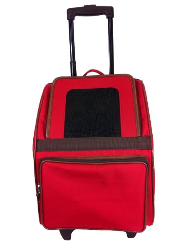 Petote Traveler Bag: Rio Classic Collection - Red