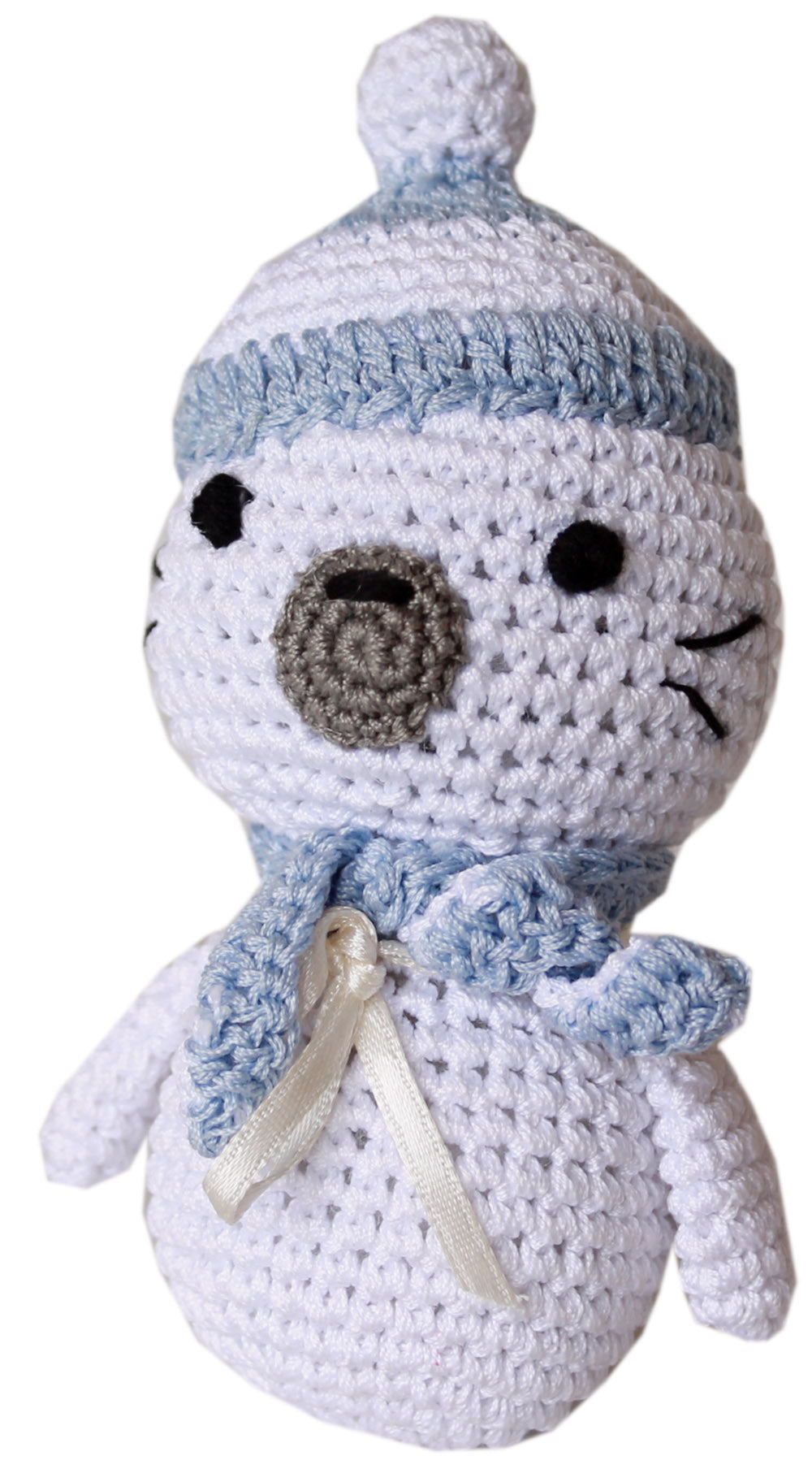 Sammy the Seal Knit Toy