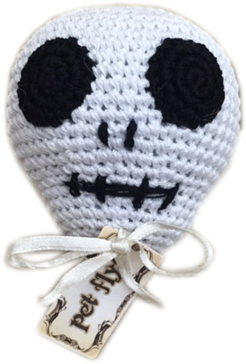 Skully the Skull Knit Toy