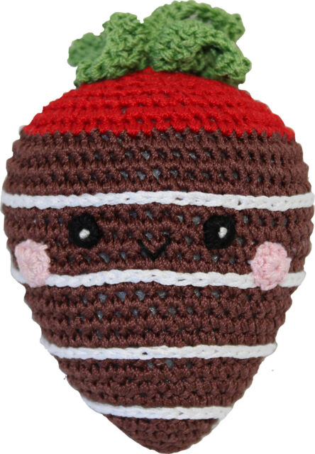 Strawberry Milk Chocolate Knit Toy