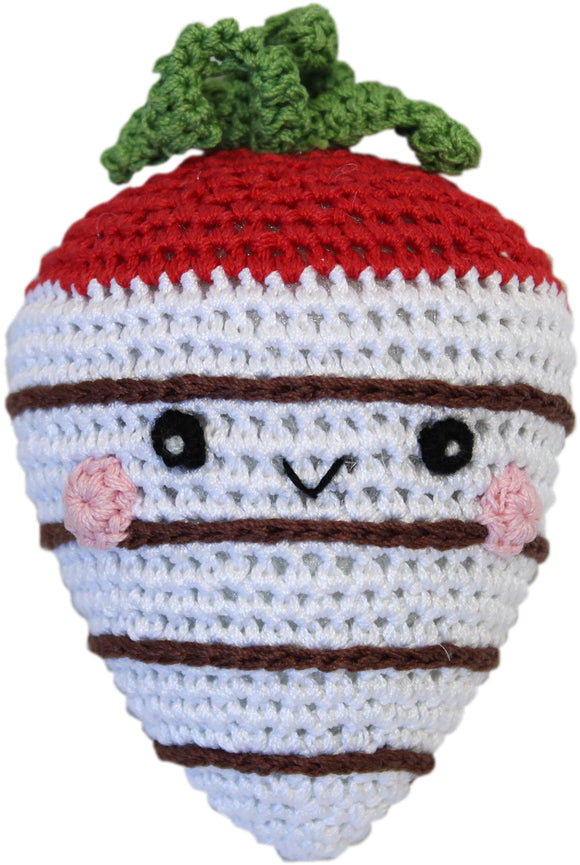 Strawberry White Chocolate Knit Toy