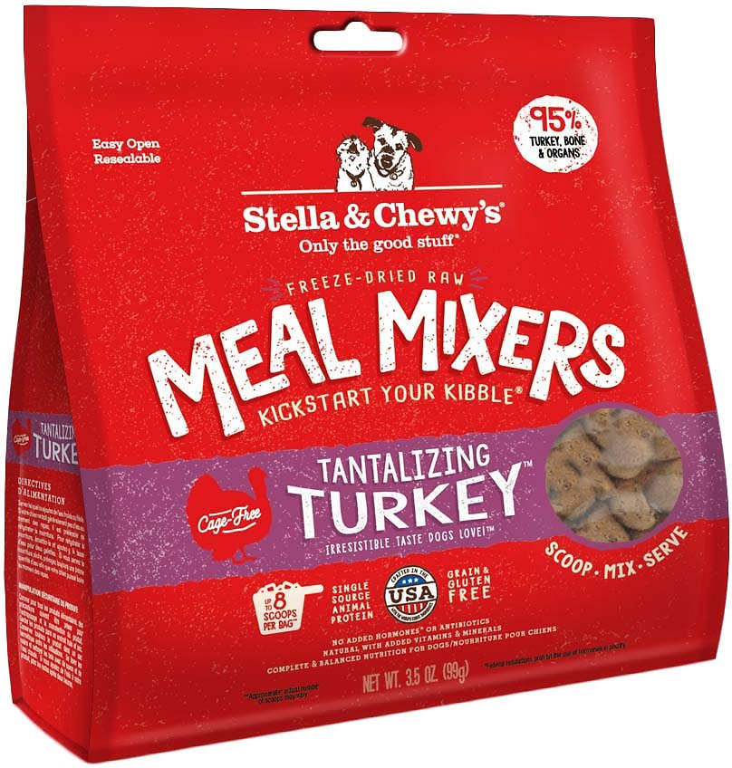 Stella & Chewy's Tantilizing Turkey Meal Mixers