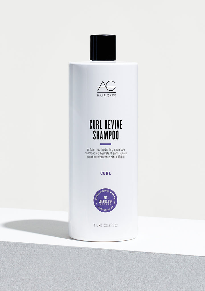 CURL REVIVE sulcate-free hydrating shampoo litre