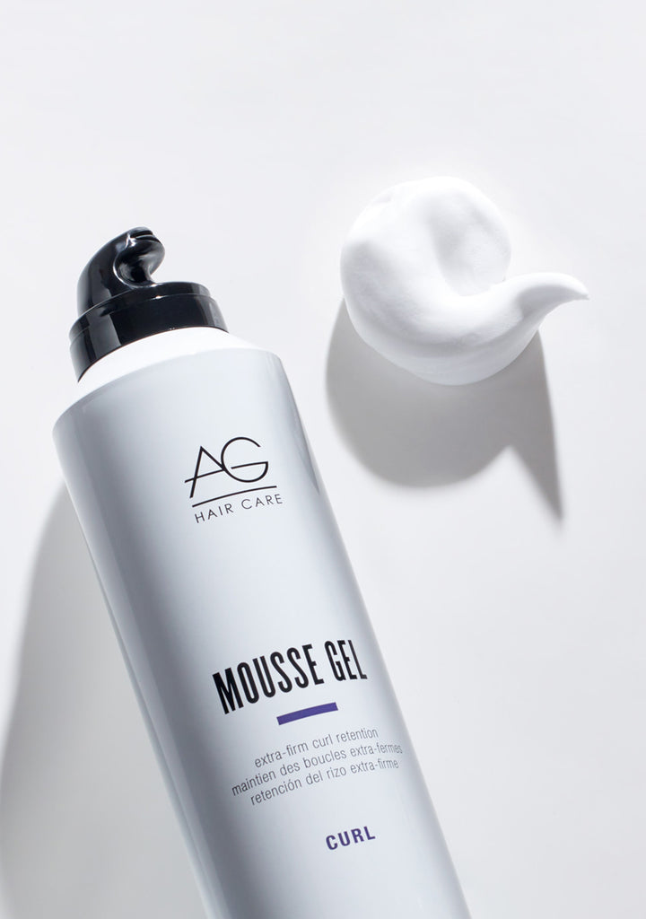 MOUSSE GEL extra-firm curl retention