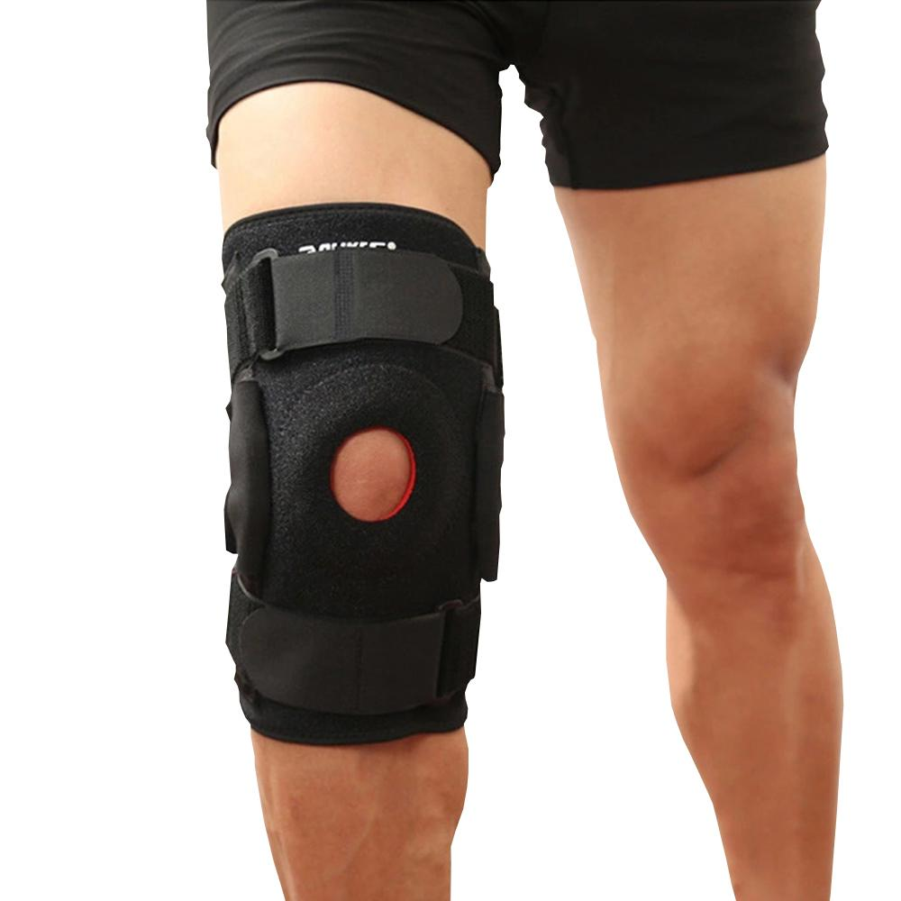 hinged knee brace, knee brace for work