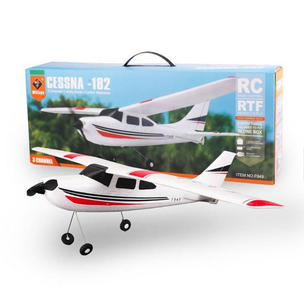 RC Airplane - Remote Control Airplane Model Cessna 182