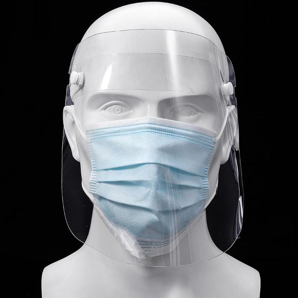 Face Shield - Anti Fog Transparent Face Shields - 10 Pack