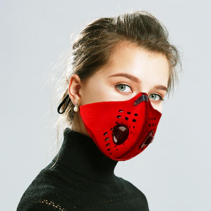 Fabric Face Mask - Reusable with Filter and Dual Breathing Valves CGF