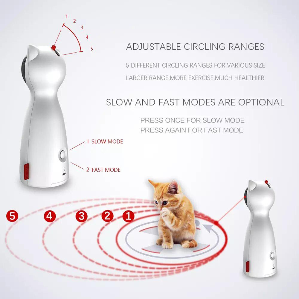 Cat Laser Toy - Automatic Interactive Cat Toy