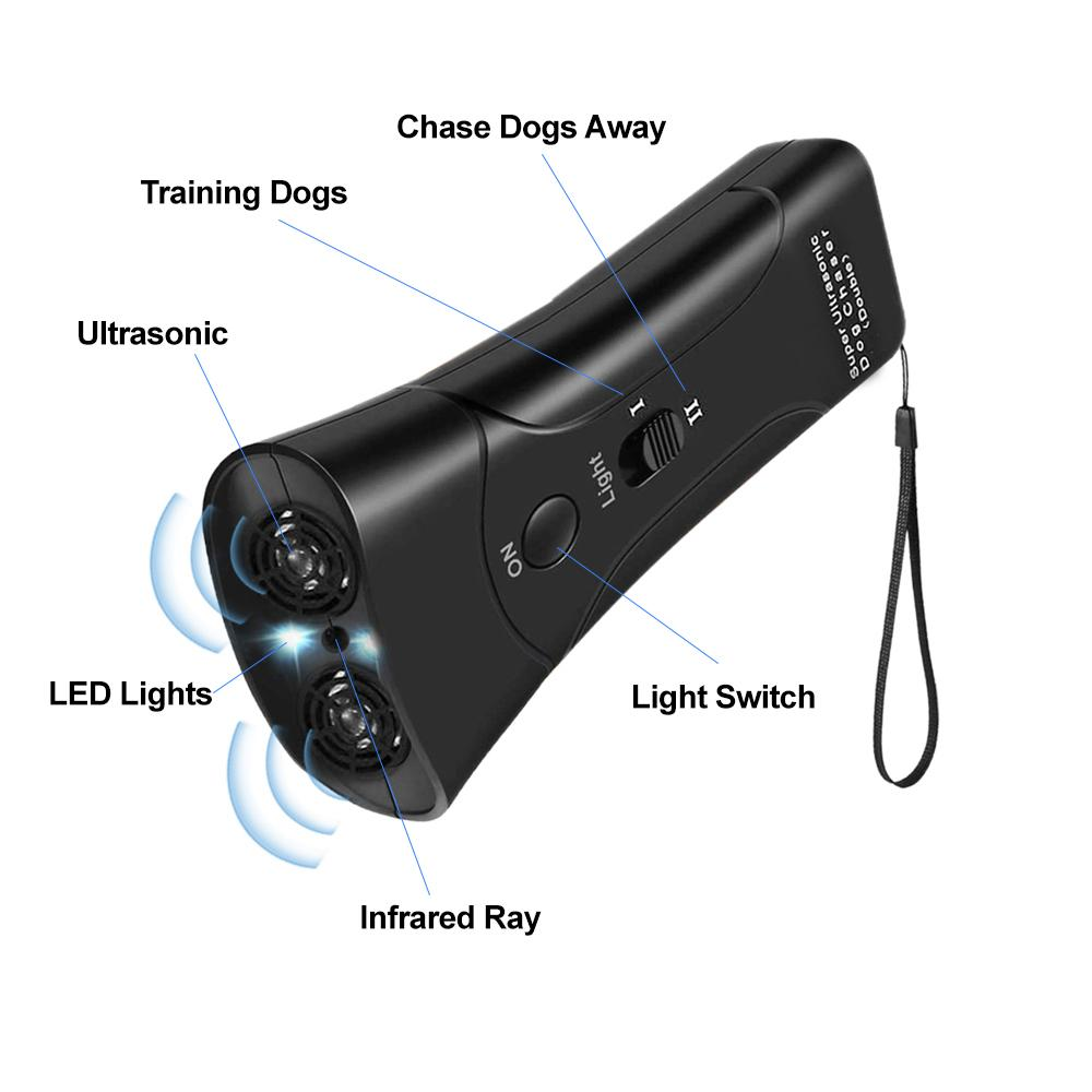 ultrasonic anti barking device, stop neighbor dog barking, stop dog from barking