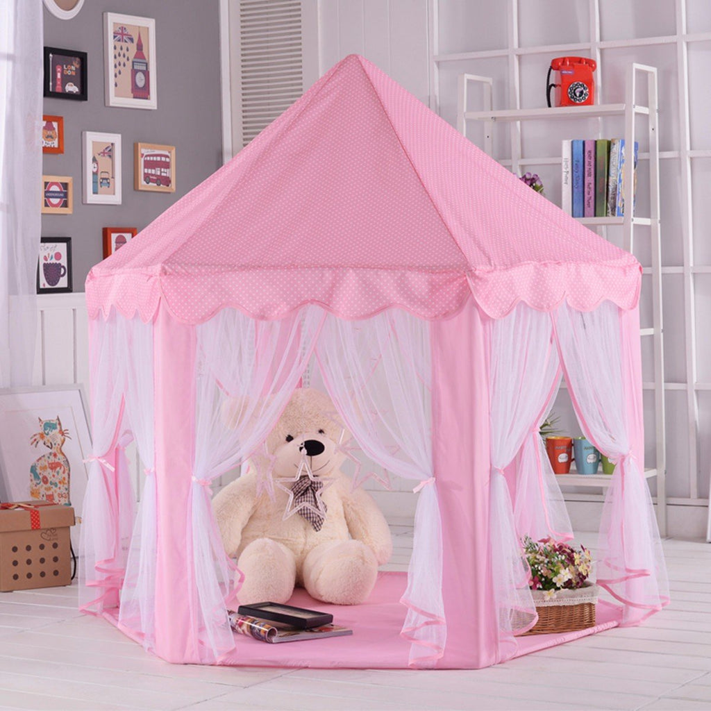 Kids Play Tent - Kids Pop Up Tent - Princess Tent For Toddler & Children