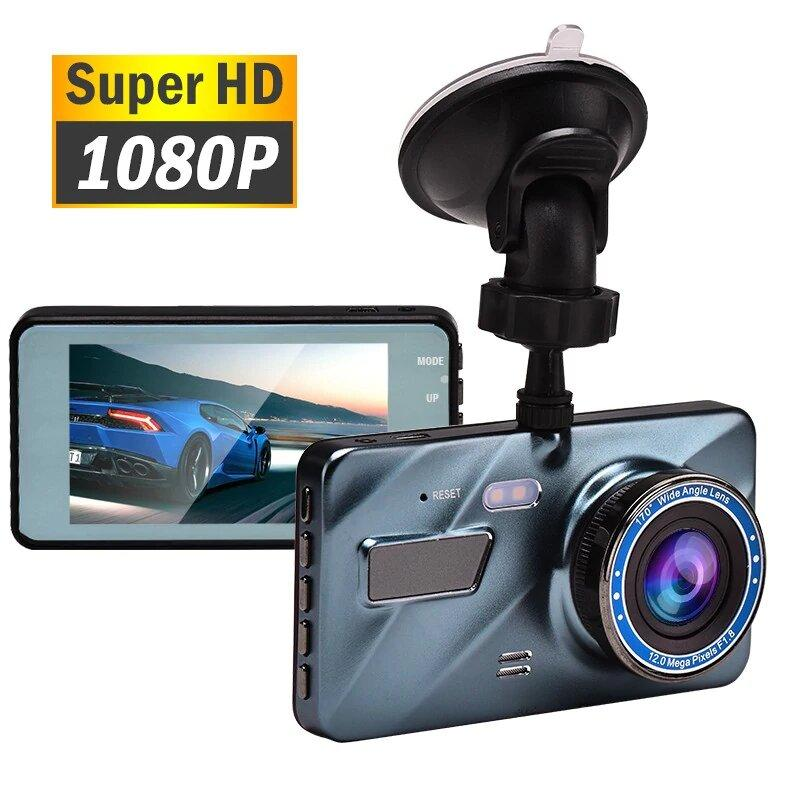 Car Dash Cam - Best 1080p Dashcam Dashboard Camera For Car - Front And Rear Pilot Dual Dash Cam - Surveillance  Video Camera For Dashboard