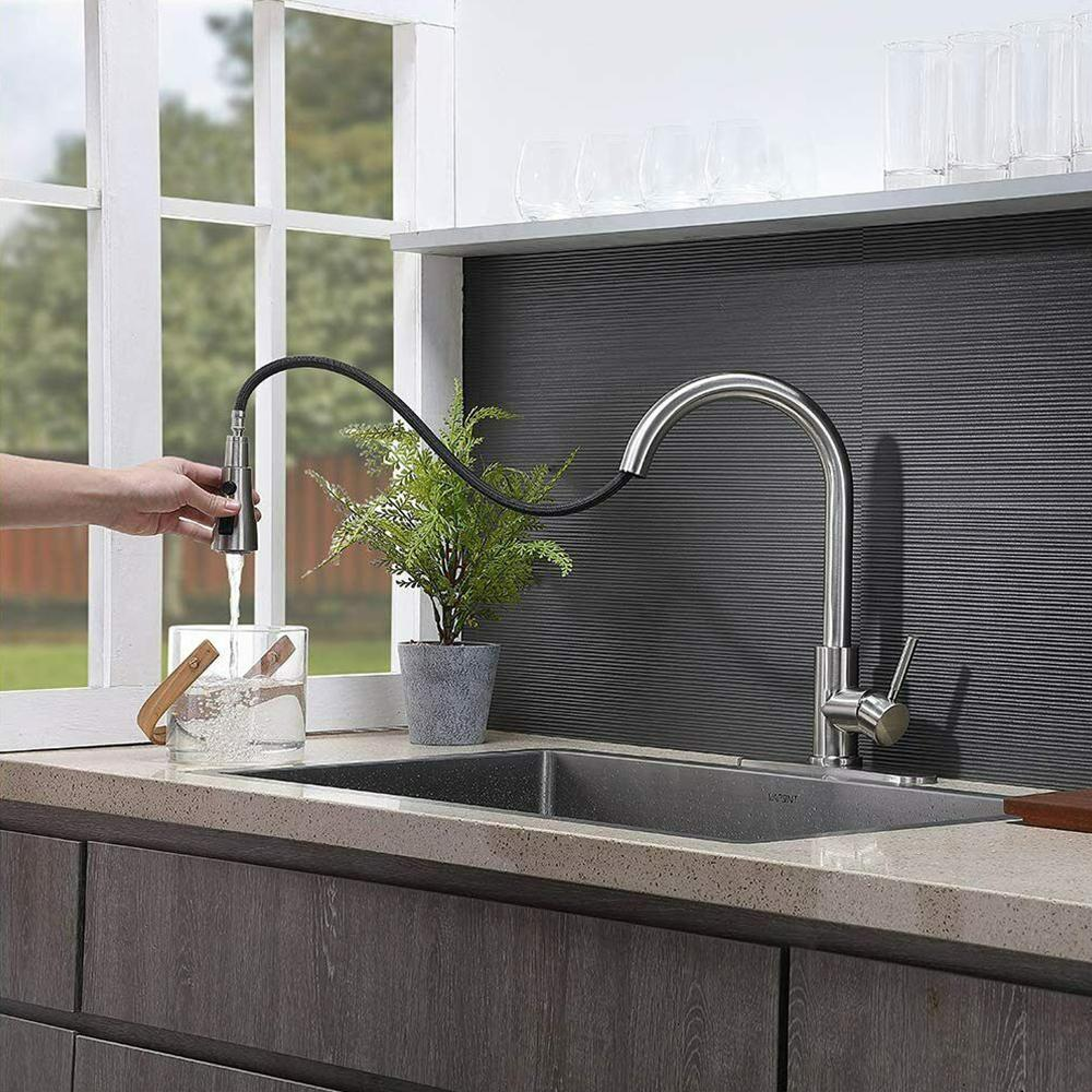 Kitchen Sink Faucet, Kitchen Faucet, Kitchen Faucet with Pull Down Hose