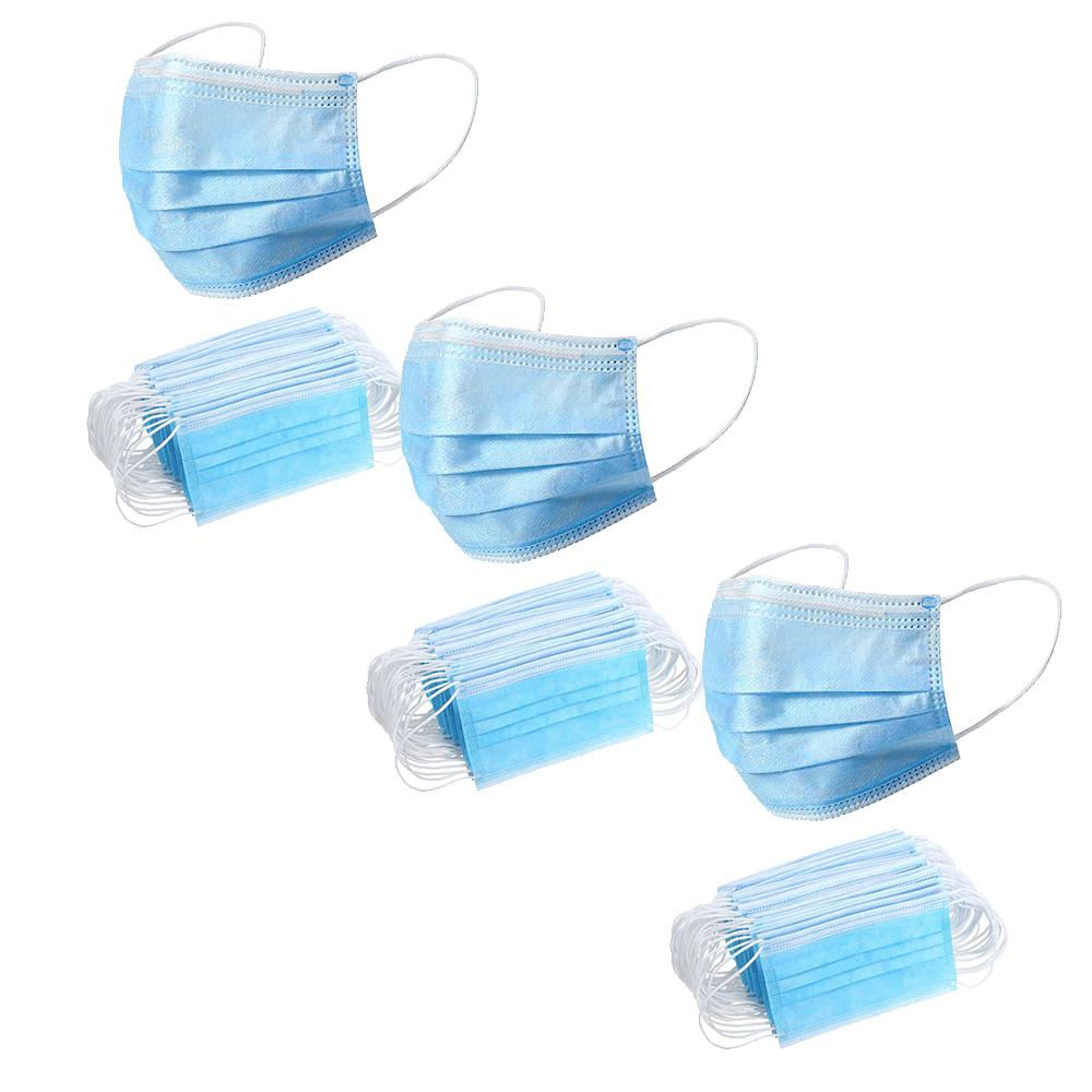 3 x 50 Pack = 150 Disposable Face Masks