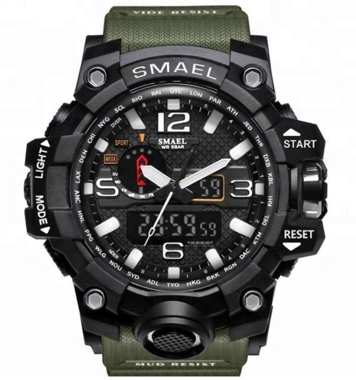 SMAEL Men's Military Watch - Tactical Watch