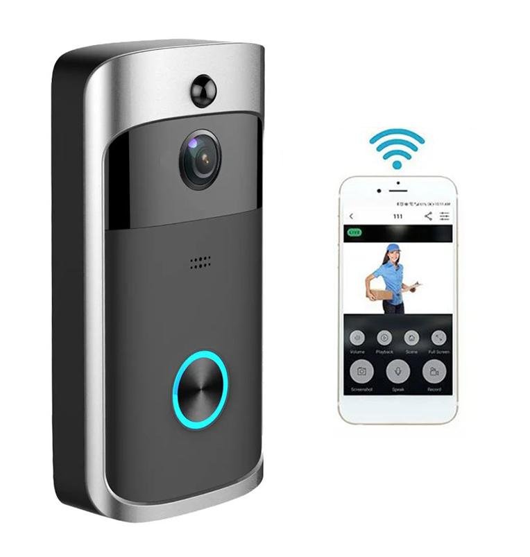 Wireless Video Doorbell Camera - Wireless Doorbell Camera