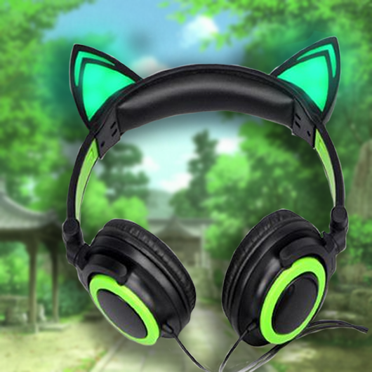 Pro-league™ Cat Headphones - With Glowing Ears