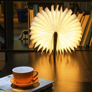 The Magic Light Book - USB Rechargeable Lamp