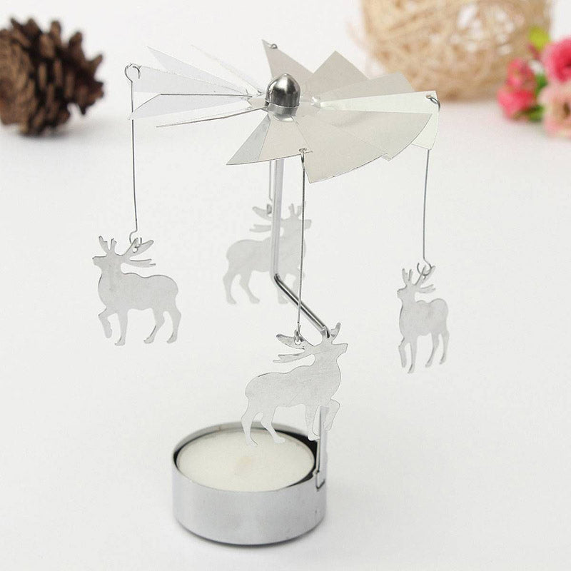 Spinning Tealight Carousel