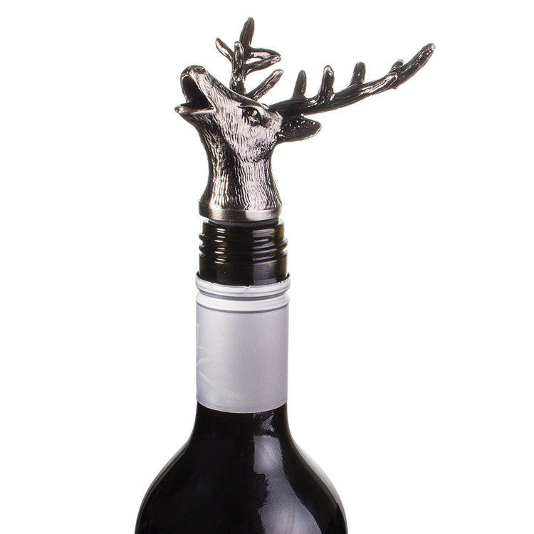"""Steel Stag"" Bottle Top / Pourer"