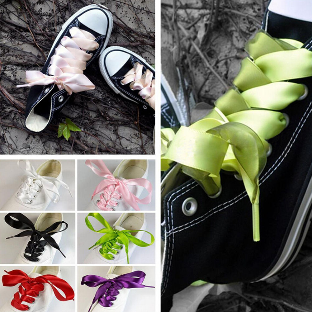 Silk Ribbon Shoelaces