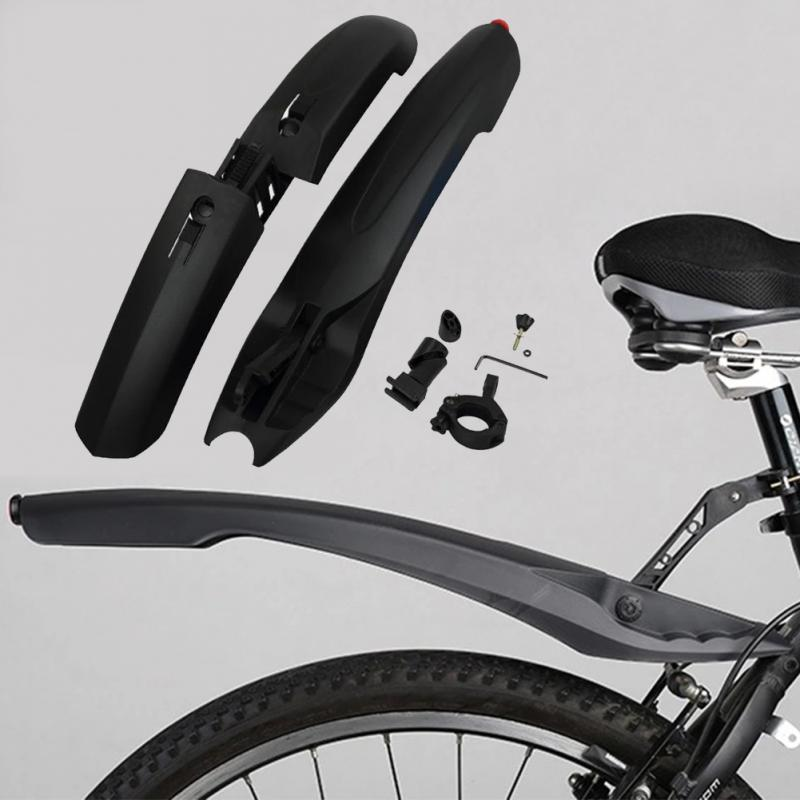 Mountain Bike Mudguard With LED Tail Light