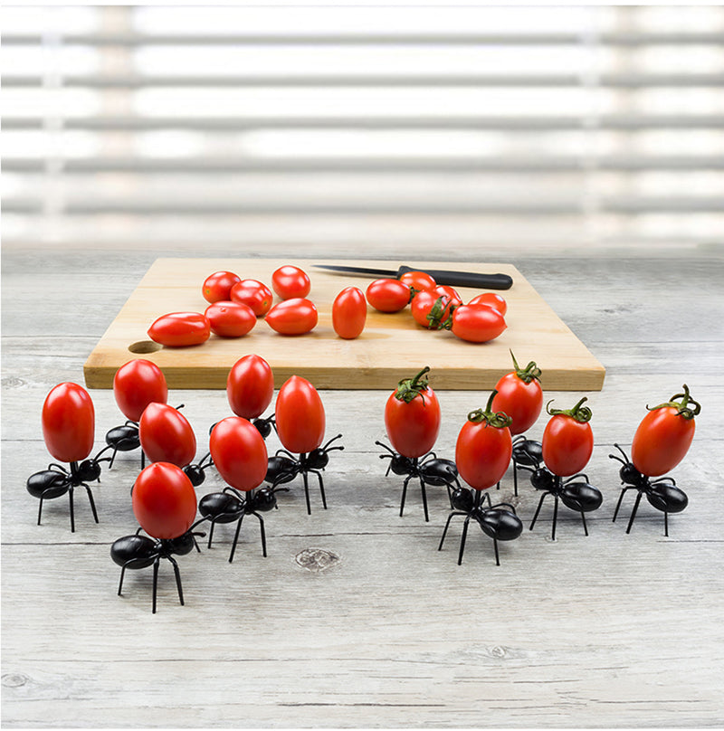 """Ant Snack"" 12 Piece Snack Skewers"