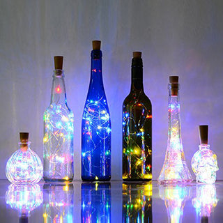 """Bottle Lights"" Copper Wire LEDs"