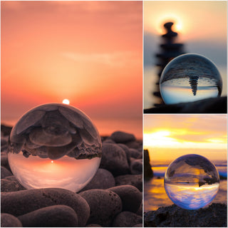 """PhotoSphere"" Spherical Crystal Photo Lens"