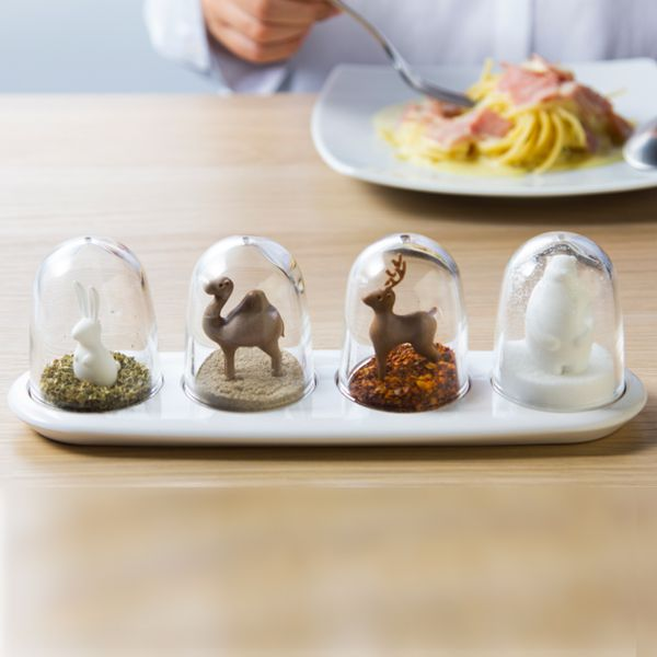 4 Piece Spice Shaker Set