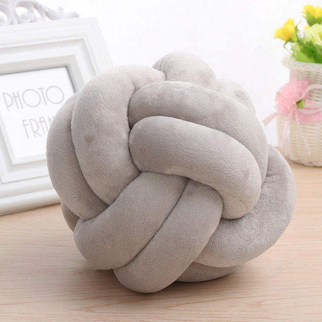 Designer Knot Cushion